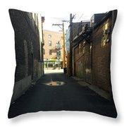 Alley 40 Throw Pillow
