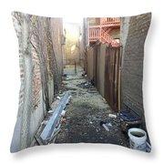 Alley 44 Throw Pillow