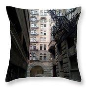 Alley Valleys 4 Throw Pillow