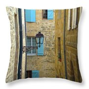 Alleys Of Sarlat II Throw Pillow