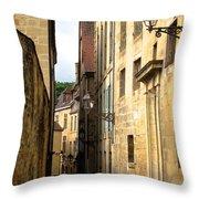 Alleys Of Sarlat Throw Pillow