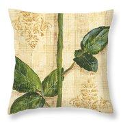 Allie's Rose Sonata 1 Throw Pillow by Debbie DeWitt