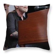 Allman Brothers Band - Gregg Allman Throw Pillow