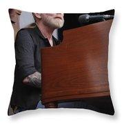 Allman Brothers Band - Gregg Allman Throw Pillow