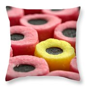 Allsorts Throw Pillow