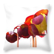 Alluring Carnivore Throw Pillow