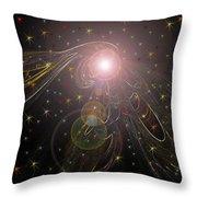 Alluring Light Throw Pillow