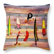Alluring To Fishermen Throw Pillow