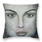 Alma Expuesta Throw Pillow
