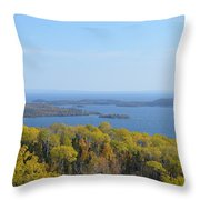 Almost Canada Throw Pillow