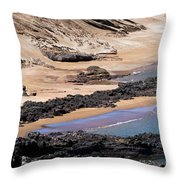 Almost Deserted Throw Pillow