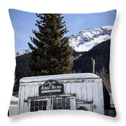 Almost Heaven Again Throw Pillow