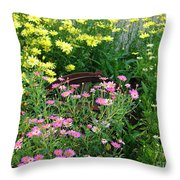 Almost Hidden Throw Pillow
