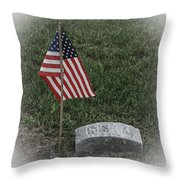 Almost Lost But Not Forgotten Throw Pillow