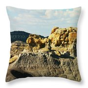 Almost Moonscape Throw Pillow