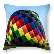 Almost Ready To Launch Throw Pillow