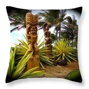 Aloha From Hawaii Throw Pillow
