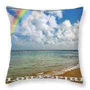 Aloha Spirit Throw Pillow