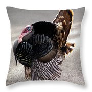 Aloha Turkey II Throw Pillow