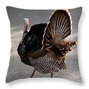 Aloha Turkey Throw Pillow