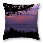 Aloha V Throw Pillow