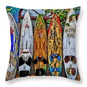 Aloha Y'all Throw Pillow