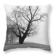Alone And Lonely Throw Pillow