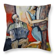 Alone And Together Throw Pillow