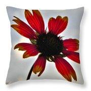 Alone Flower I Mlo Throw Pillow
