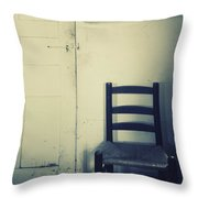 Alone In A Room Throw Pillow
