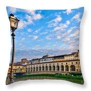 Along The Arno #2 Throw Pillow