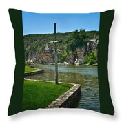 Along The Guadalupe Throw Pillow