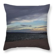 Along The Water Throw Pillow
