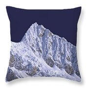 Alpamayo Peru Throw Pillow