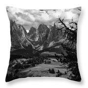 Alpes IIi Throw Pillow
