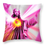 The Alpha And The Omega Throw Pillow