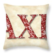 Alpha Chi Rho - Parchment Throw Pillow