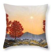 Alpine Meadow II Throw Pillow