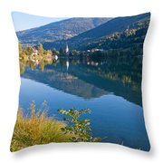 Alpine Wonder Throw Pillow