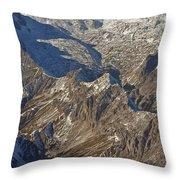 Alps - The Bowl Throw Pillow