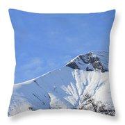 Alps Vista  Throw Pillow