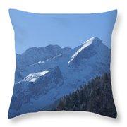 Alpspitze Bavaria 1 Throw Pillow