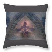 Alqualonde Castle Throw Pillow