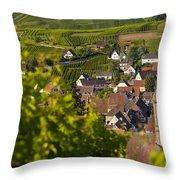 Alsace Morning Throw Pillow