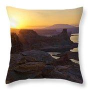 Alstrom Point Sunrise  Throw Pillow