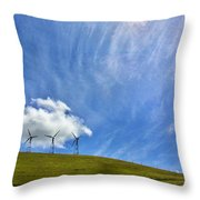 Altamont Windmills Throw Pillow