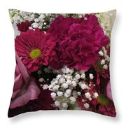 Altar Bouquet Throw Pillow