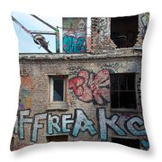Alte Eisfabrik Berlin Throw Pillow