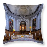 Alter At St Martins Cathedral Throw Pillow