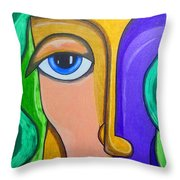 Altered Perception Throw Pillow